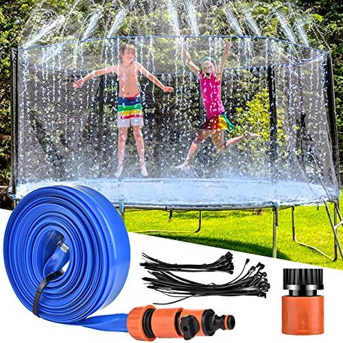 LETIGO Trampoline Sprinkler, 12 m Outdoor Trampolin...