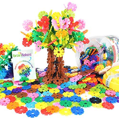 VIAHART Kinder Spielzeug, Lernspielzeug, Schneeflocken-Bausteine...