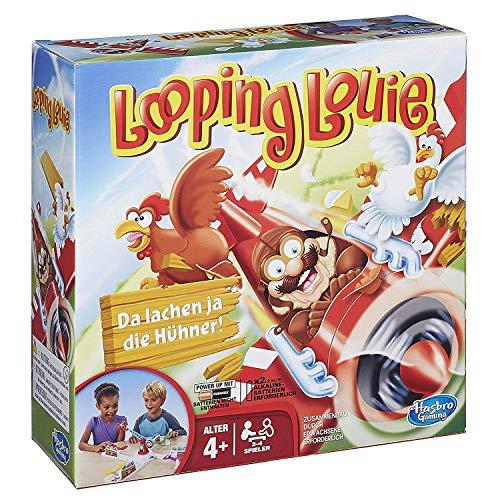 Hasbro Looping Louie Kinderspiel, lustiges 3D Spiel, Partyspiel für...