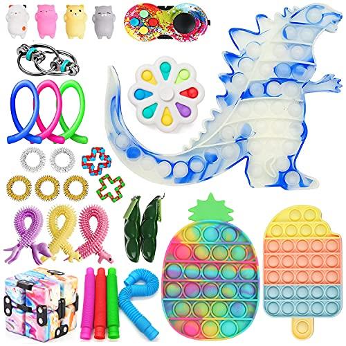 Eghunooze Fidget Packs, sensorisches Fidget-Spielzeug-Set mit...