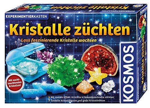 KOSMOS 643522 Kristalle züchten. Lass faszinierende Kristalle wachsen. Komplett-Set, nachtleuchtende,...