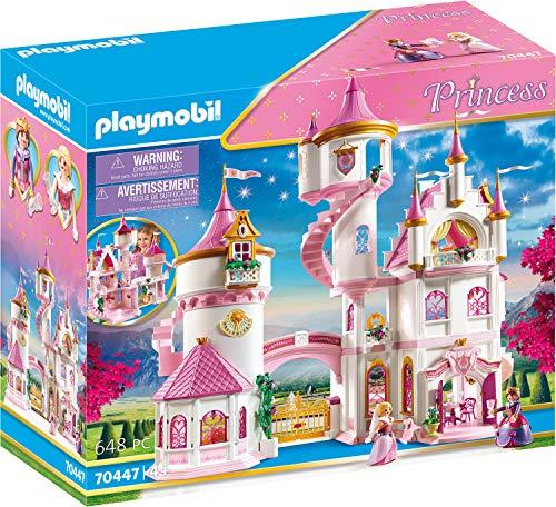 PLAYMOBIL Princess 70447 Großes Prinzessinnenschloss mit drehbarer...
