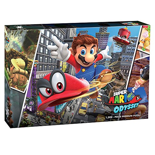 USAopoly PZ005-569 Super Mario Odyssey Puzzle 1000 Teile