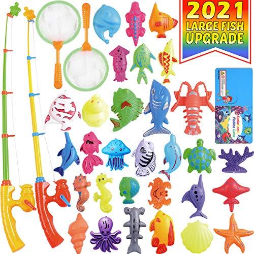 CozyBomB Angeln Spielzeug, Badespielzeug, Magnetisches Angeln...