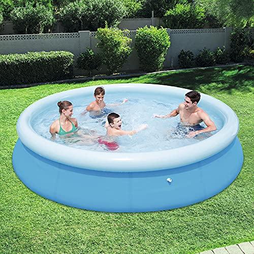 Aufblasbarer Pool, Planschbecken für Kinder, Aufblasbarer, klappbarer...