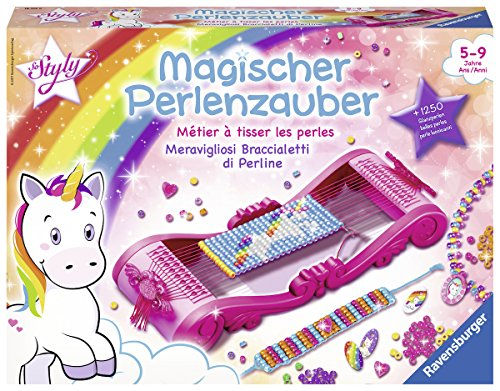 Ravensburger Magischer Perlenzauber, Perlenarmbänder selber machen, Kreatives Bastelset für Mädchen ab 5...