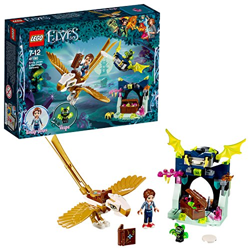 Lego Elves 41190 Emily Jones und Die Flucht Auf dem Adler, Speilzeug,...