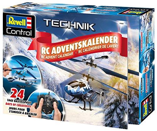 Revell Control 01020 RC Adventskalender Hubschrauber, ferngesteuerter RC Helikopter für Einsteiger zum...