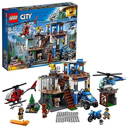 LEGO City 60174 - Bergpolizei Hauptquartier Cooles...