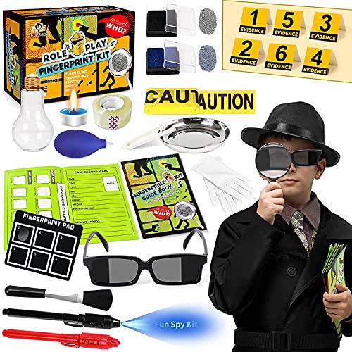 Dedektivset Kinder Fingerabdrücke Detektiv Experimente Spionagebrille...