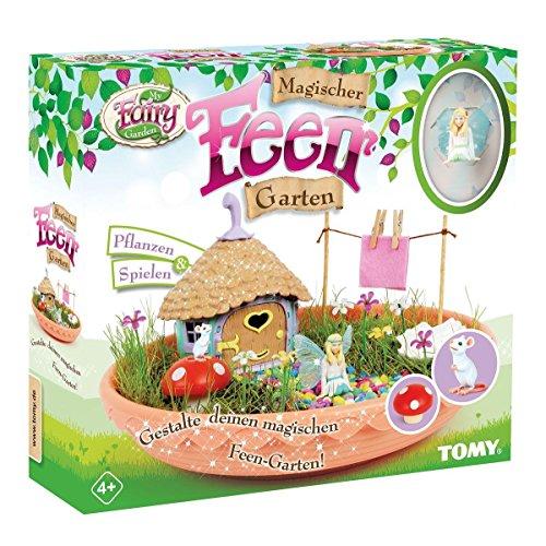 My Fairy Garden Spielzeugset, Magischer Feen Garten, Garten für Kinder ab 4 Jahren zum Selber Pflanzen &...