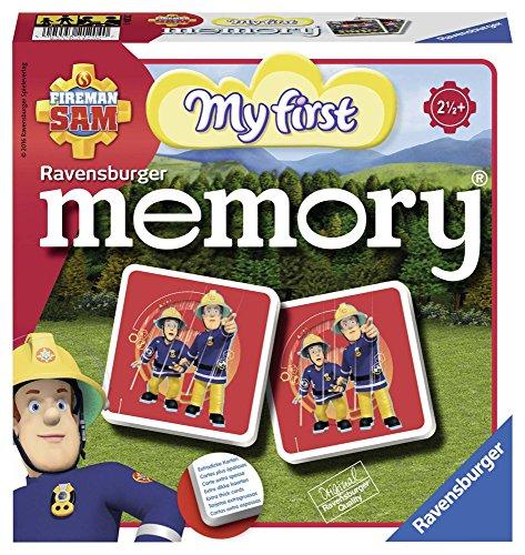 Ravensburger Kinderspiele 21204 - Fireman Sam Mein erstes memory