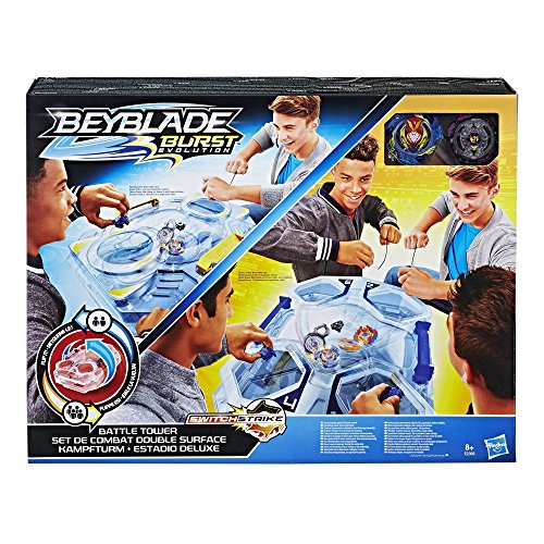 Hasbro Beyblade E2393EU4 Switch Strike Kampfturm, Kreisel, Jungen