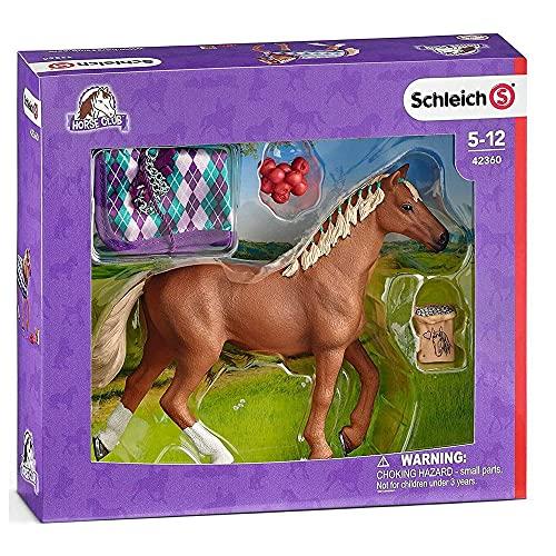 SCHLEICH- Figur Pur-Sang Englisch mit Decke Horse Club, 42360,...