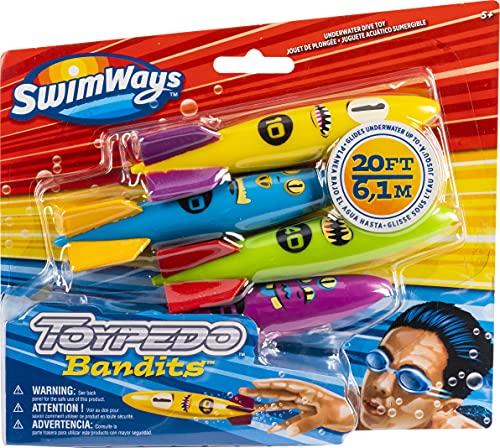 SwimWays 6045217 ToyPedo Bandits Tauchspielzeug für Kinder ab 5...
