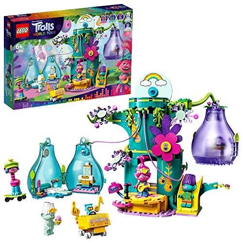 LEGO 41255 Trolls World Tour Party in Pop City Baumhaus-Set mit 2...