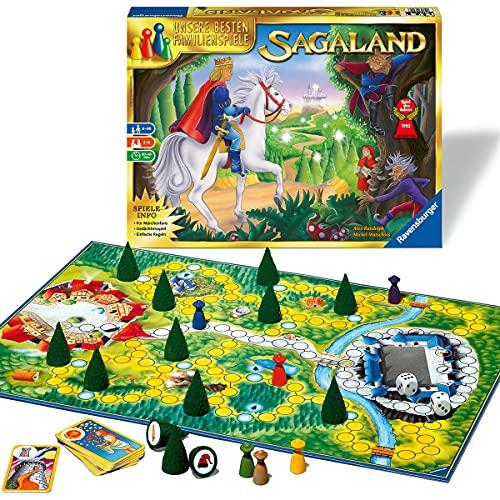 Ravensburger 26424 - Sagaland - Gesellschaftsspiel für Kinder und...