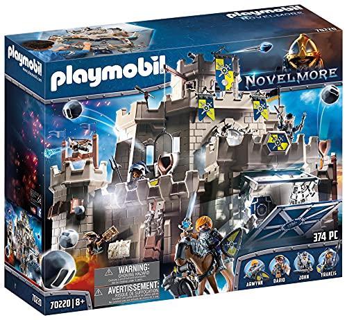 PLAYMOBIL Novelmore 70220 Große Burg von Novelmore, für Kinder von 4...