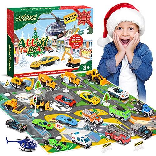 Diyfrety Spielzeug ab 2 3 4 5 6 7 Jahre, Adventskalender 2021 Kinder...