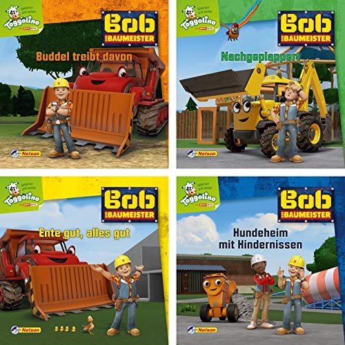 4er-Set Maxi-Mini 10: Bob der Baumeister (Nelson Maxi-Mini)