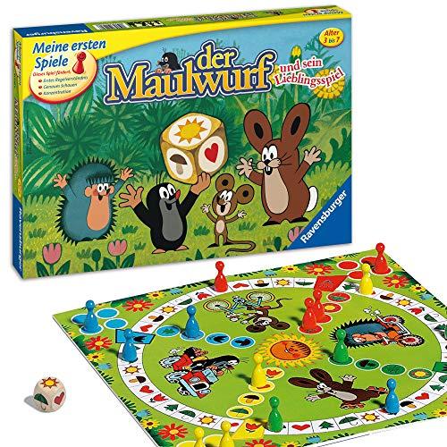 Ravensburger 21570 - Der Maulwurf und sein Lieblingsspiel - Spiel für...