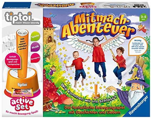 Ravensburger tiptoi 00044 active Set Mitmach-Abenteuer, Kinderspiel ab...