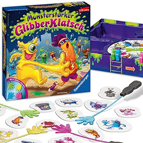 Ravensburger Kinderspiel 21353 - Monsterstarker Glibber-Klatsch -...