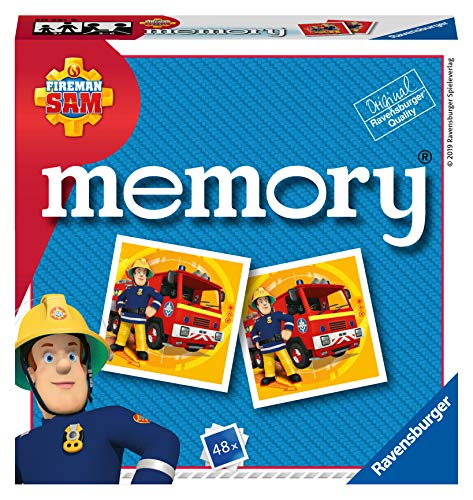 Ravensburger Italy - Fireman Sam Feuerwehrmann Memory im...