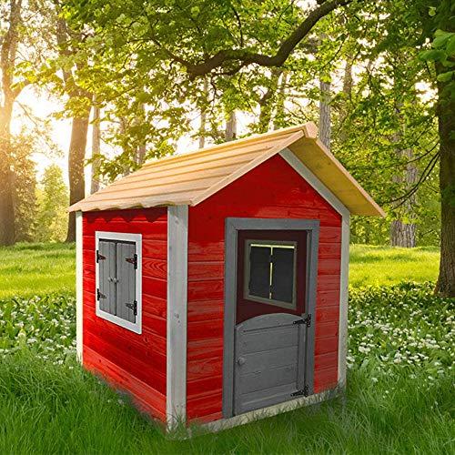 Home Deluxe - Spielhaus aus Holz für Kinder -...