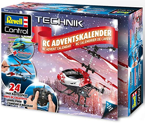 Revell 01028 Adventskalender RC Helikopter mit 2.4 GHz,...