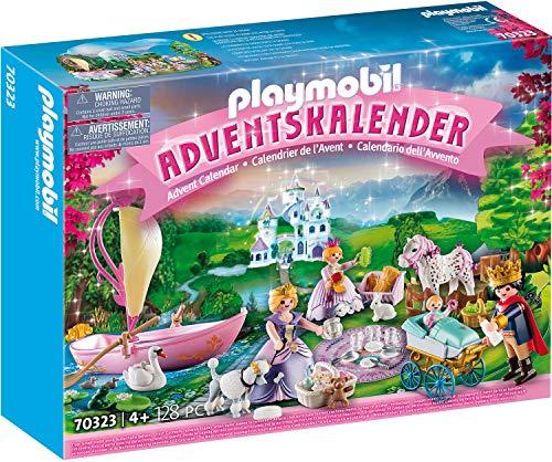 PLAYMOBIL Adventskalender 70323 Königliches Picknick im Park, Für...