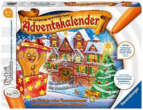Ravensburger tiptoi Interaktiver Adventskalender Mandelmann, ab 4...
