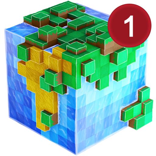 WorldCraft: Block Craft Spiele mit Skins Export nach Minecraft