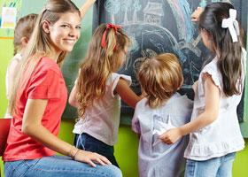 Erziehung im Kindergarten