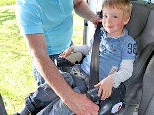Gurtverlängerung für den Kindersitz