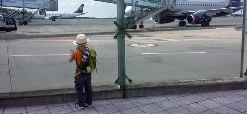 fliegen kinder