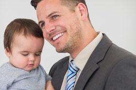 Väter zwischen Beruf und Kinder