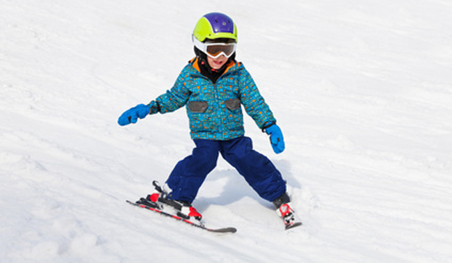 skifahren-kind