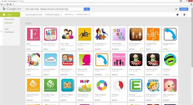 Apps für Väter mit kleineren Kind