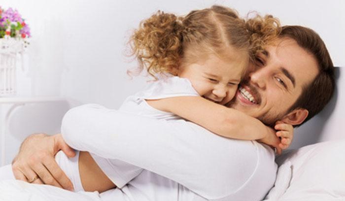 Vater Rolle in der Erziehung