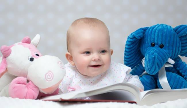 Entwicklung Denkvermögen Baby