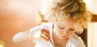 Kreative Entwicklung beim Kind