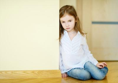 Kind allein
