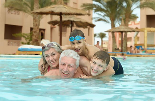 Urlaub mit den Großeltern