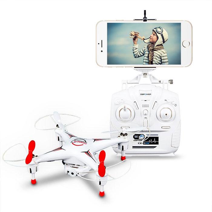 Ferngesteuerte Drohne für Kinder / Bildlizenz: DBPOWER®