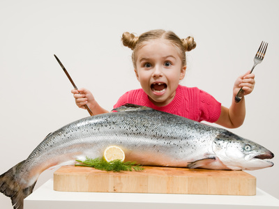 Eisenhaltiges Lebensmittel Fisch