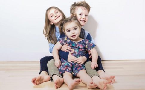 Drei Geschister