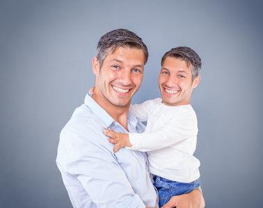 Vater und Kind Vererbung