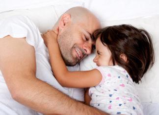 Schlafbegleitung im gemeinsamen Bett