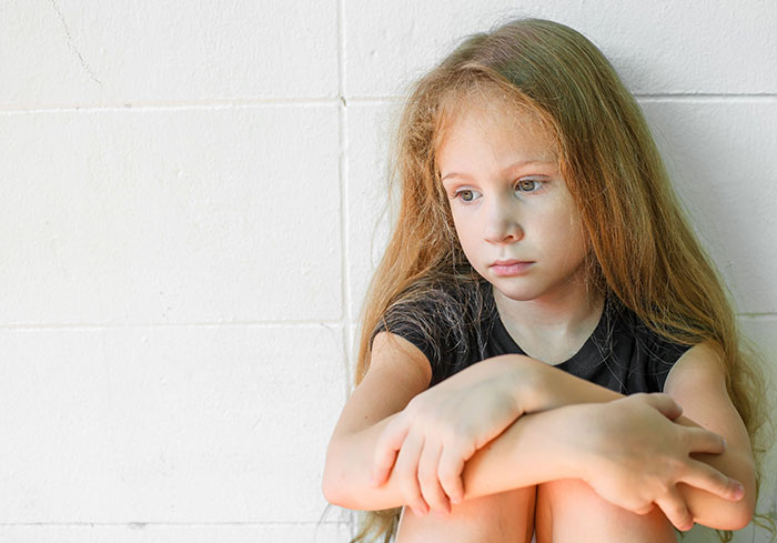 Traurigkeit bei Kindern